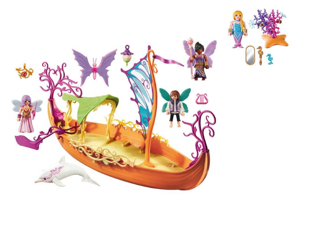 Playmobil Fairy Ship and Mermaid photo